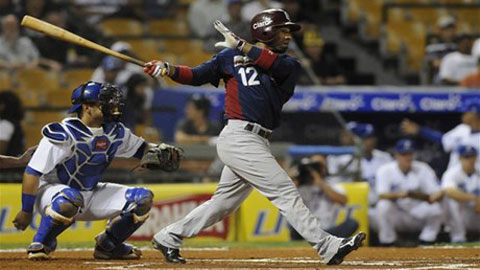 Robinzon Diaz signed with the Angels as a minor league free agent during the off season.
